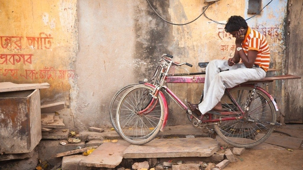 india bike mobile phone cell phone bicycle