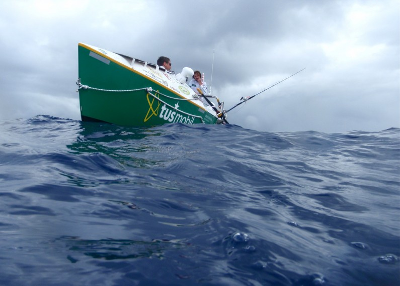 Rowing the Atlantic