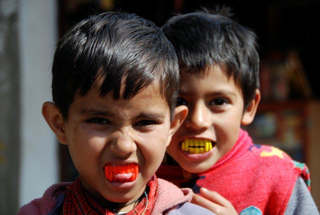 Werewolf teeth for kids