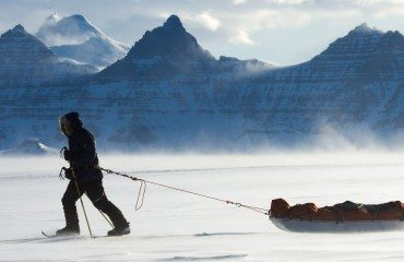 Arctic expedition in the Watkins Mountains and Greenland ice cap.