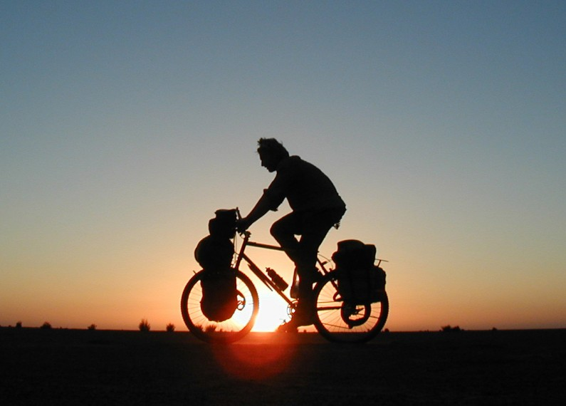 How to Cycle 40,000 miles Round the World in 1000 Words