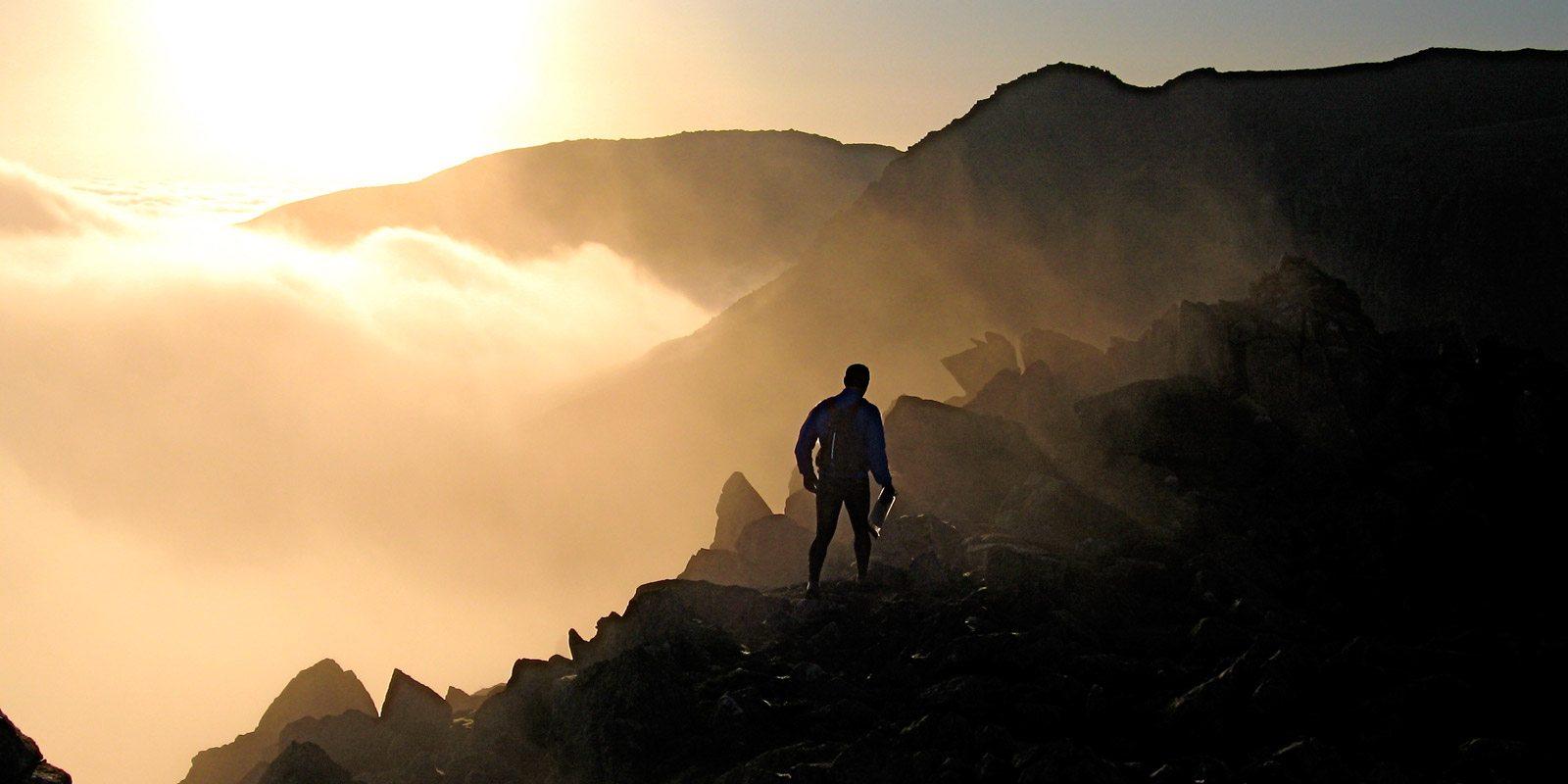 Lake District sunset