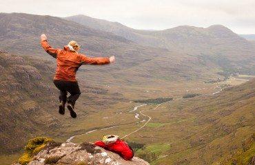 Microadventure in Torridon, Scotland