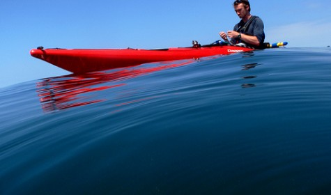 Sea Kayaking microadventure
