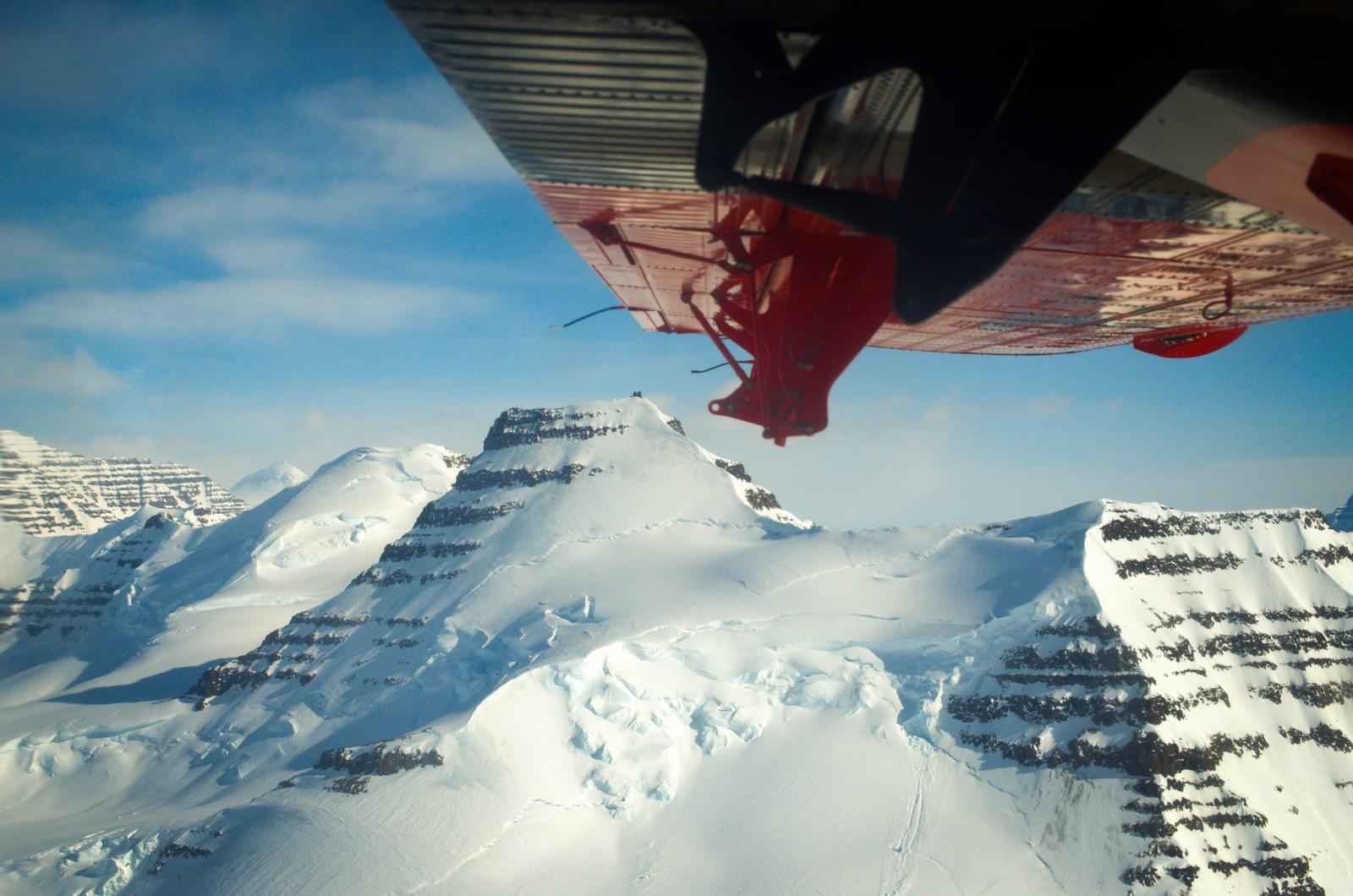 Plane Flight in Greenland