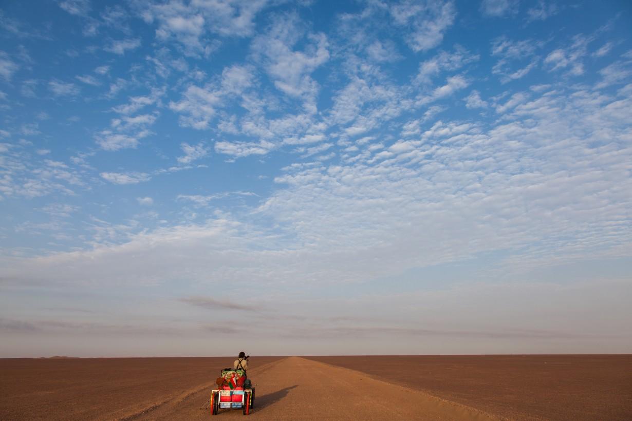 desert walk big sky