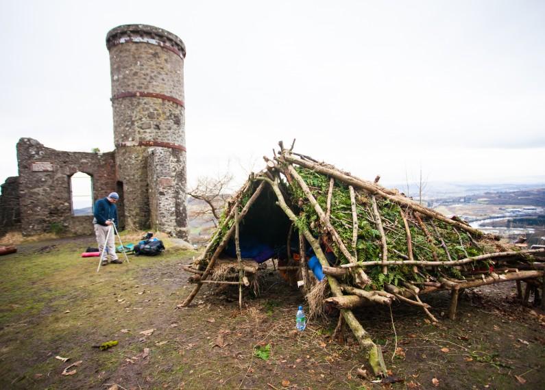 Wild Hut Microadventure