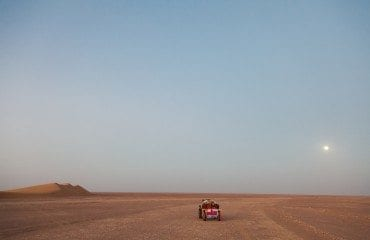 desert oman cart moon