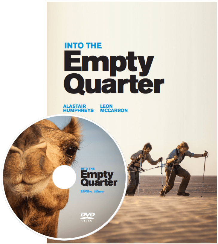Into The Empty Quarter DVD and Download