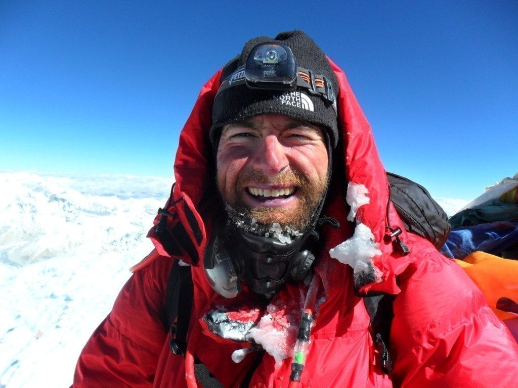 James Ketchell on Everest 1024x768 You will Surprise Yourself If Youre Prepared to Put the Hard Work in.