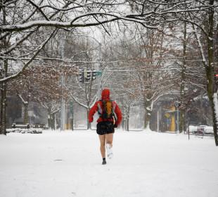 Jamie McDonald – Running across Canada dressed as a Superhero