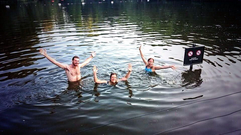 Hampstead Ponds mornig dip