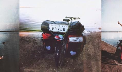 Imran Mughal – Round the World by Bike
