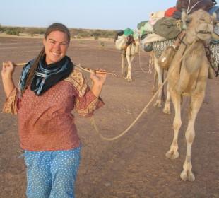 Paula Constant – Walking from the UK to the Sahara