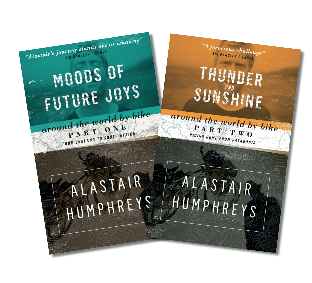 Buy Both Alastair's Popular Books About His Epic 4year Ride Round The  World For A Special Price Of Just £12 (plus P&p) That's A Saving Of 33%