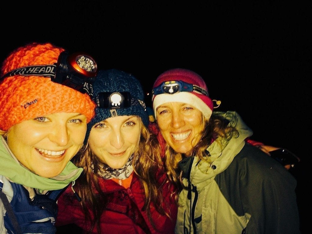 Bonfire night microadventure w peta Mcsharry and laura kennington