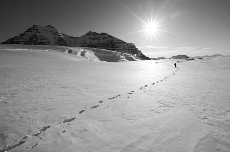 greenland footsteps