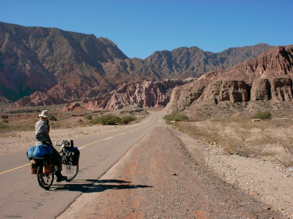 bike mountains road