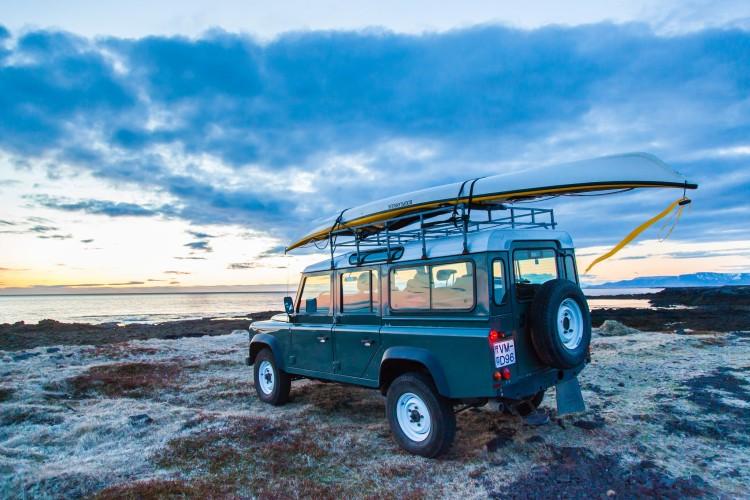 land rover kayak