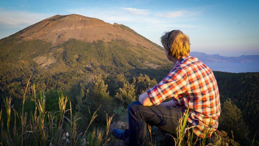 Alastair humphreys vesuvius volcano