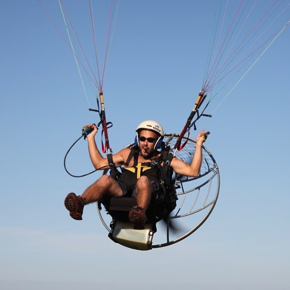 Learning to paramotor was one of the most fun things I've done. #Spain