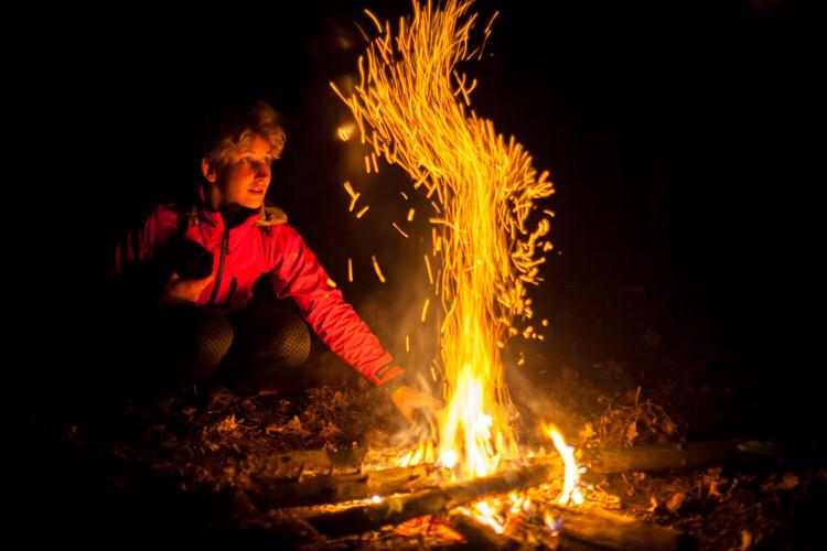 girl fire