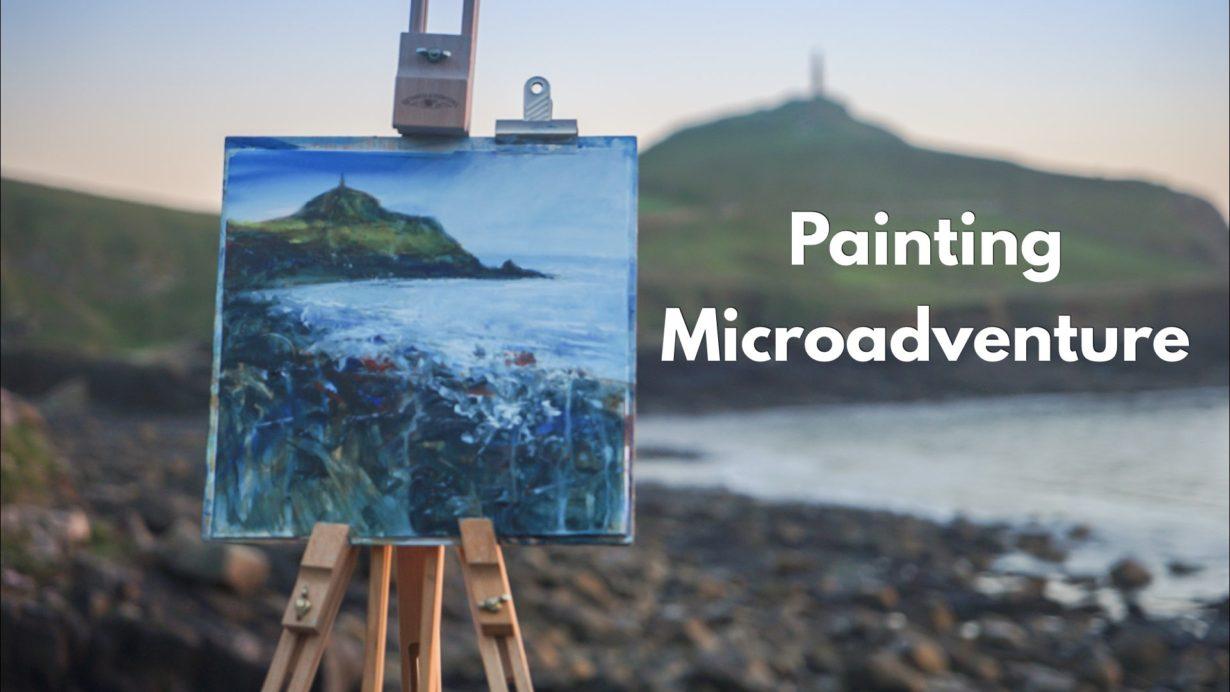 Painting microadventure