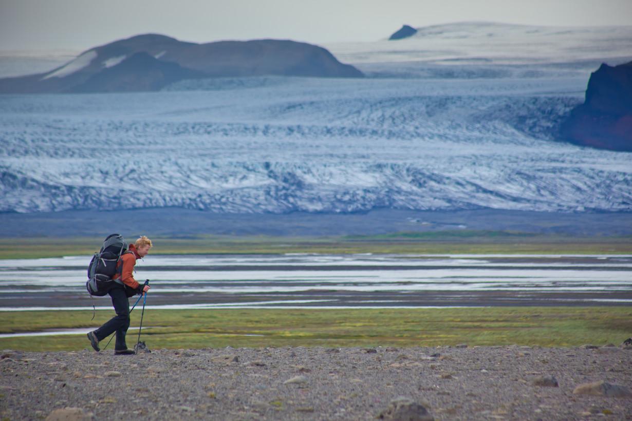 iceland glacier mountain alastair humphreys