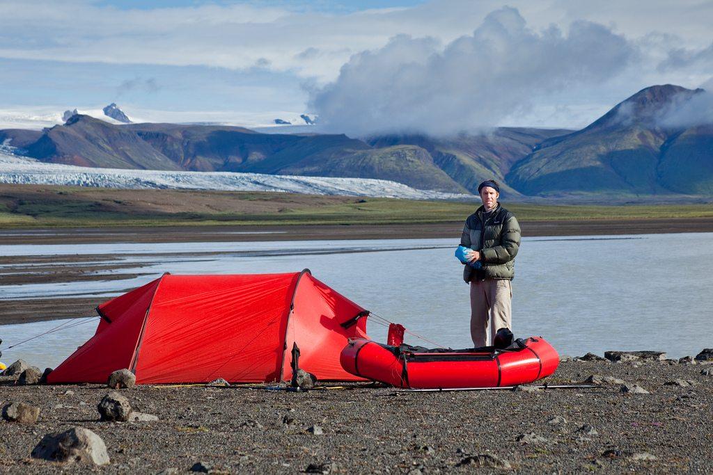 Tent And Packraft Alastair Humphreys