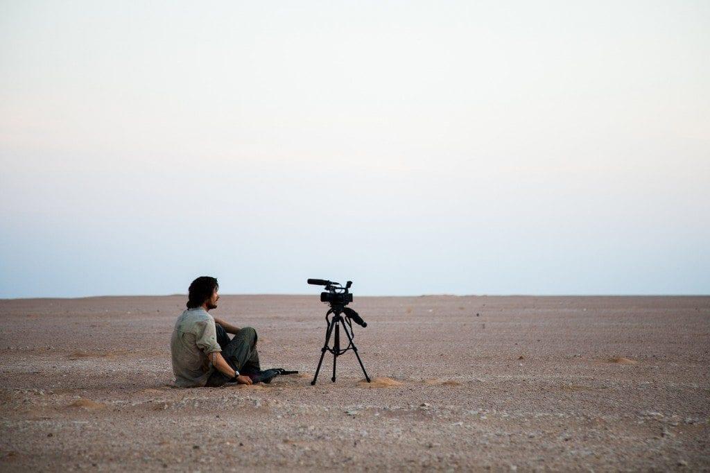 video film camera desert leon
