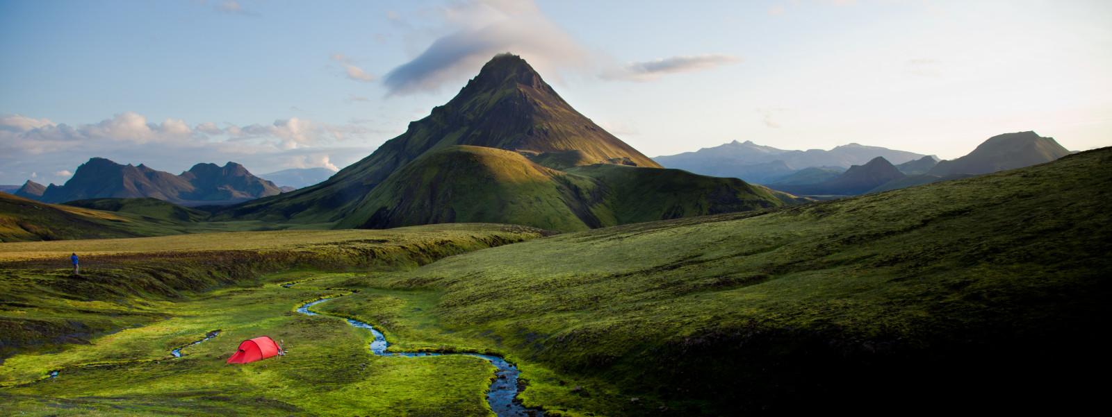 iceland tent camp