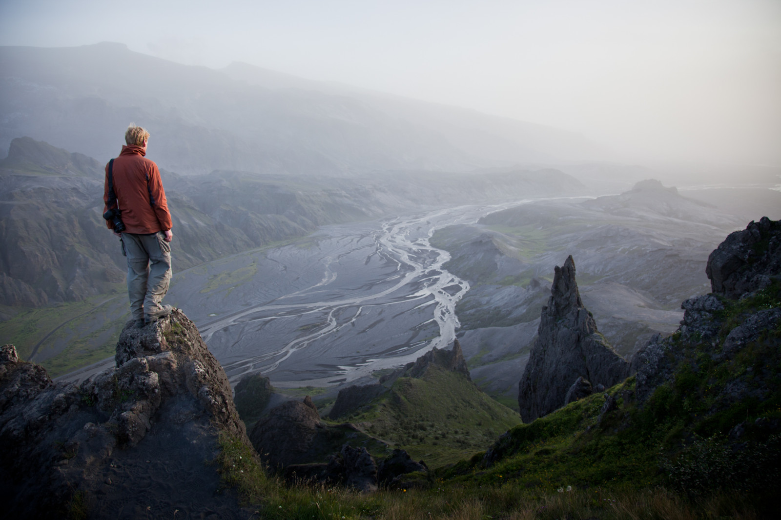 iceland mountain river