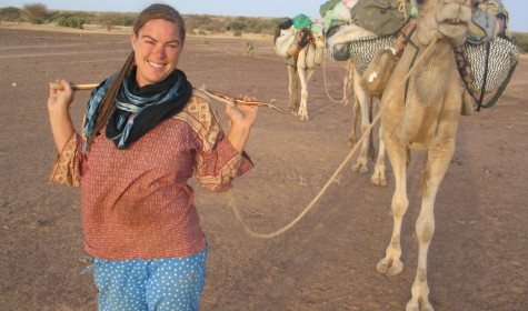Paula Constant – Walking from the UK to the Sahara