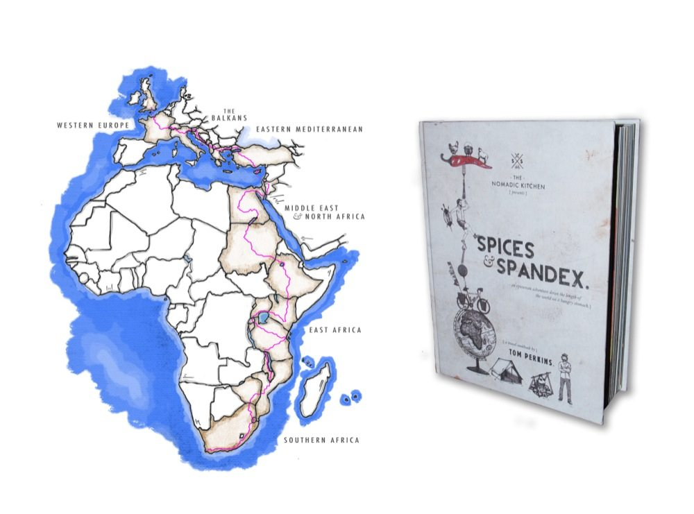 map and book