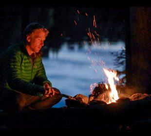 Fire and Foraging Microadventure