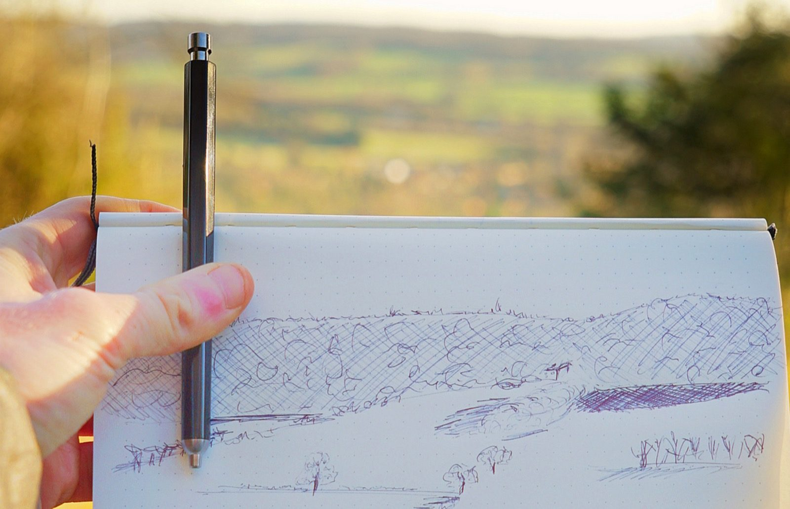 sketch landscape